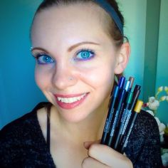 I LOVE how creamy and how absolutely easy to apply our eyeliner pencils are   With so many different colours to choose from you'll want them all!!  Today I am wearing Passionate, Polished, and  Presumptuous