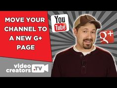 How To Connect your Channel to a New Google+ Page (2015) - YouTube Web Seo, Google Page, Video News, You Youtube, Way To Make Money, Connection, Channel