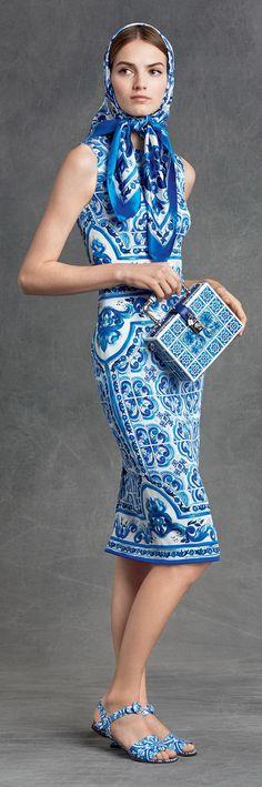 Lookbook Dolce & Gabbana осень-зима 2015-2016