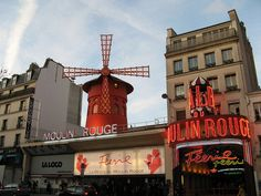 Things to do in Paris France: Moulin Rouge. My 7th grade self is insisting this is a must!