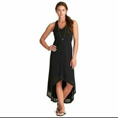 2d7aaf639c6d7 New Athleta Myra Middy Dress In Black Middy Dress, Comfy Dresses, Casual  Dresses,
