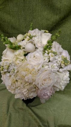 Bridal bouquet, January 2016