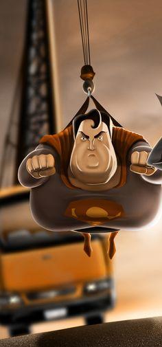 Carlos Dattoli 2 Fat Super Héros par Carlos Dattoli