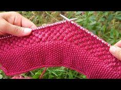 Aj ham is video me dekhenge ek naya design jo ki bahut sundar lagta hae sweater par. to chaliye dekhte hae. Mere videos ko like kre share kre aur mere cha. Sweater Knitting Patterns, Lace Knitting, Knitting Stitches, Knitting Designs, Knit Patterns, Stitch Patterns, Knit Crochet, Kids Knitting, Blanket Crochet
