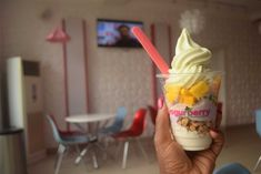 Frozen Yogurt from Yogurberry Abuja Nigeria