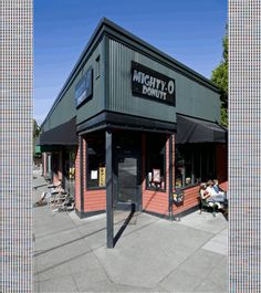 The best vegan donuts - Mighty-O Donuts - Seattle