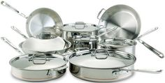 All-Clad Induction Cookware set for superior levels of cooking precision and control