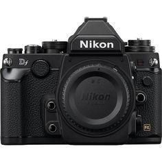 Nikon Df DSLR Camera (Black) 1525 B&H Photo Video