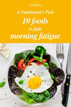 From Sleepy to Supercharged: 10 Foods for Morning Fatigue Flat Tummy Foods, Feel Good Food, Best Diet Plan, Anti Inflammatory Recipes, Food Hacks, Food Tips, Keto Meal Plan, Foods To Eat, Best Diets