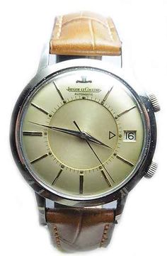 Steel classic and vintage wrist watch/ jaeger lecoultre oyster watches
