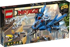 The Lego Lightning Jet set - a great selection of Lego construction sets at Wonderland Models. Save Ed and Edna from the shark army's crab with Jay's Lightning Jet in this thrilling THE LEGO NINJAGO MOVIE set. Ninjago Lego Sets, Lego Ninjago Movie, Lego Ritter, Lego Kits, Lego Construction, Buy Lego, Lego Lego, Anakin Skywalker, Movies