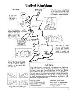 Around the World Coloring Book (Dover History Coloring