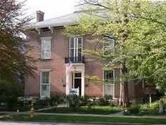 Kelton House Museum & Garden in Columbus, Ohio. OU Sooners vs Ohio State 2017. 586 Town Street. Open M-F, 10-4.