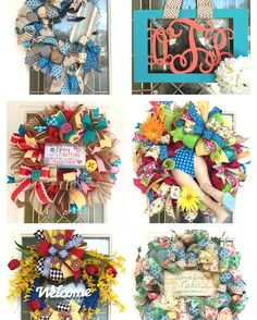 Sale on these wreaths in my Etsy shop! Go to https://www.etsy.com/shop/DecoDecorByPatina for more details!