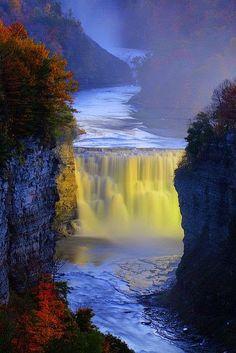 7 Beautiful & Pure Nature Waterfalls   Photos Hub