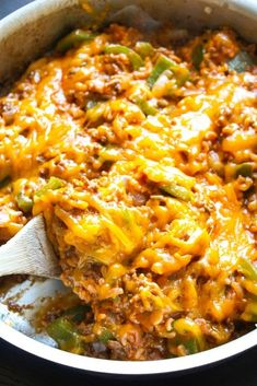 8-Ingredient Stuffed Pepper Skillet | 25 Incredibly Cheesy Recipes You Need In Your Life