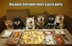 Everyone loves a pizza party!
