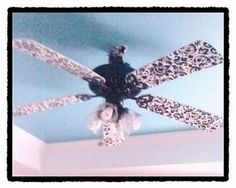 Ceiling fan makeover is happening soon at my place!