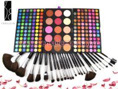 Trusa Farduri 183 culori + 24 pensule machiaj Fraulein38 Eyeshadow, Beauty, Eye Shadow, Eye Shadows, Beauty Illustration