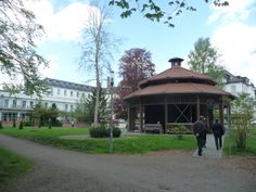 Gradieranlage (good for people with respiration problems) and Kneippianum Bad Woerishofen, Bavaria