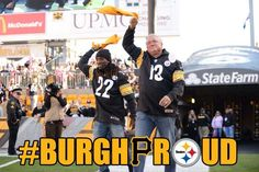 Andrew McCutcheon & Clint Hurdle at Steelers vs Ravens 10./20/13