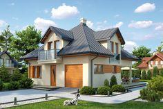 Projekt domu L-6337,Biuro Architektoniczne KB Projekt Home Fashion, Mansions, House Styles, Home Decor, Decoration Home, Manor Houses, Room Decor, Villas, Mansion
