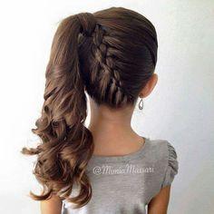 Peinados para pequeñas <3