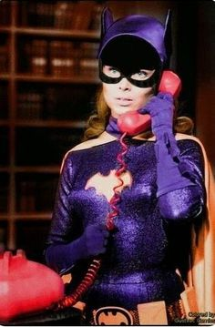 "Yvonne Craig as Batgirl in the TV series ""Batman"" Adam West Batman, Batman Y Robin, Batman And Batgirl, Batman 1966, Superman, Batman Tv Show, Batman Tv Series, Eartha Kitt Catwoman, Batgirl Cosplay"