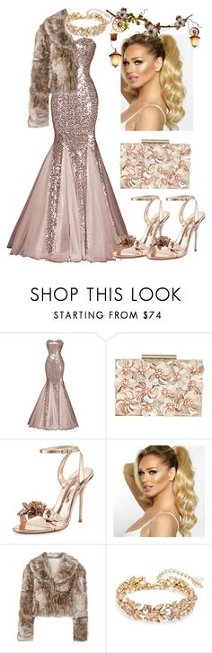 """""""my favorite dress"""" by nina11-2 ❤ liked on Polyvore featuring Phase Eight, Sophia Webster, STELLA McCARTNEY and Badgley Mischka"""