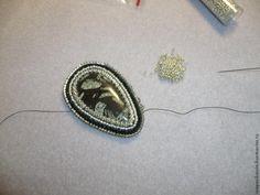 """Плетение и вышивание броши """"Precious Moments"""" с бантом. Часть 1 - Ярмарка Мастеров - ручная работа, handmade"""