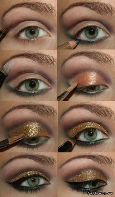 chacolate gold-love make-up