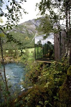 Juvet Landscape Hotel, Architects: Jensen & Skodvin Arkitektkontor, Location: Gudbrandsjuvet, Norway, Design Period: 2004-2007, Construction period: 2007-2008