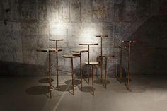 TRICKLE TRICKLE stool by GLADC studio