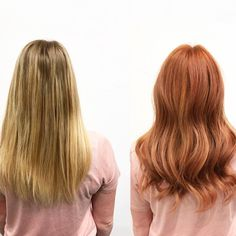 Holy hair! This hair transformation is everything! At last Friday's training, we changed our model's hair from dirty blonde to a beautiful natural red head with strawberry blonde pops! Make sure to book with us during our Christmas Open House (Dec 6-7) to get your personal hair transformation! #amaradayspa #boutique #spa #salon