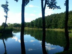 Il lago Pontino presso Acquapartita.