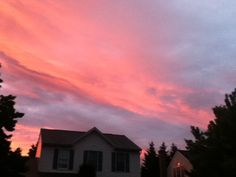 Pink Sky...www.stephsscribe.com