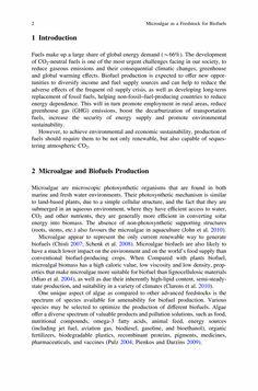 Microalgae as a Feedstock for Biofuels - Springer