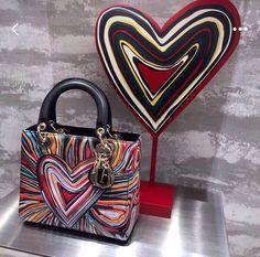Lady Dior bags heart Louis Vuitton Bags, Dior Bags, Lady Dior, Clutch Bag, Heart, Fashion, Louis Vuitton Handbags, Dior Purses, Moda