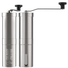 Amazon.com: Premium Manual Coffee Grinder - Cutting-Edge Conical Ceramic Burr for Precision Brewing Every Time - Guaranteed Consistent Grind - Great for Travelling - Makes the Perfect Gift by Culinary Prestige: Kitchen & Dining