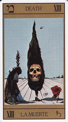 Salvador Dali Tarot Card