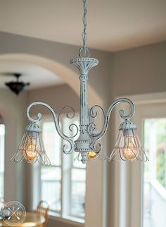 Chandelier Makeover with Chalk Spray Paint Chandelier Makeover with Chalk Spray Paint Spray Painting Wood Furniture, Chalk Spray Paint, Chalk Paint Colors, Painted Furniture, Chalk Paint Projects, Distressed Furniture, Chandelier Makeover, Chandelier Lighting, Chandeliers