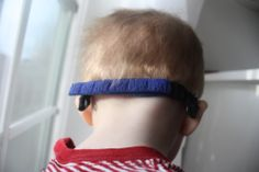 8947f771158 Great Glasses Strap that works with most frames! Here it is attached to  miraflex new baby ones! Great at holding frames right where they should be!  ...