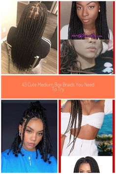 """Milly B. on Instagram: """"Medium Knotless Braids🔥 This new style is taking the city by storm🔥 Do you want the look and feel of box braids without the tension! Are…"""" #medium box braids Milly B. on Instagram: """"Medium Knotless Braids🔥 This new style is taking the city by storm🔥 Do you want the look and feel of box braids without the tension! Are…"""""""