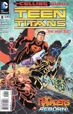 Teen Titans # 8 DC Comics The New 52! Vol 4