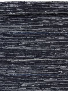 Carpet / rug / made of Jeans / www.gardsromantik.se