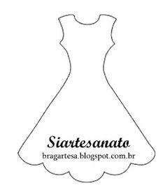 siartesanato: risco do marcador de pagina vestido Origami Vestidos, Paper Clothes, Dress Card, 3d Paper Crafts, Wooden Pegs, Craft Items, Fabric Art, Card Templates, Paper Dolls