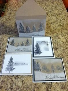 Lovely as a Tree Class by stampingcrazykitty - Cards and Paper Crafts at Splitcoaststampers