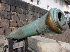 Signal Gun – Noon Marker, Ōsaka Castle in Japan
