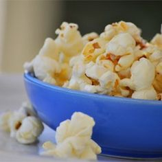 Kettle Corn - Allrecipes.com add 1/2tsp salt to oil sugar mixture
