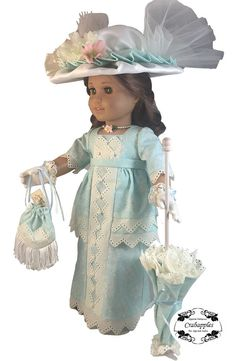 Crabapples Edwardian Fancy Bundle Doll Clothes Pattern 18 inch American Girl Dolls | Pixie Faire
